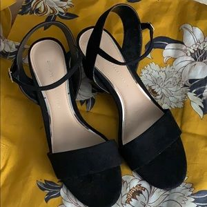 Zara sandals with ankle strap. NWOT